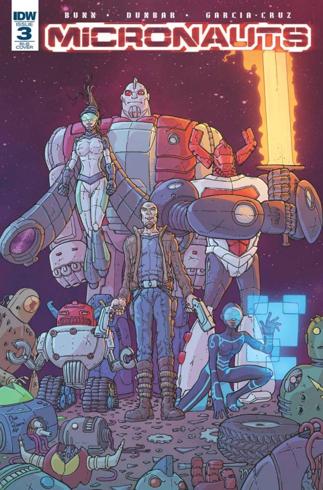 Micronauts #3 (25 Copy Cover)
