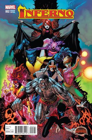 Inferno #2 (Clarke Cover)