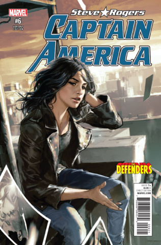 Captain America: Steve Rogers #6 (Defenders Cover)