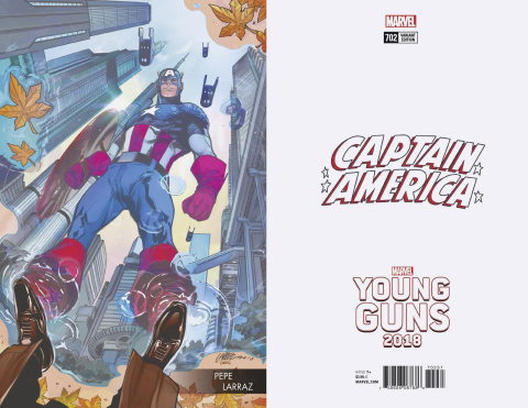 Captain America #702 (Larraz Young Guns Cover)