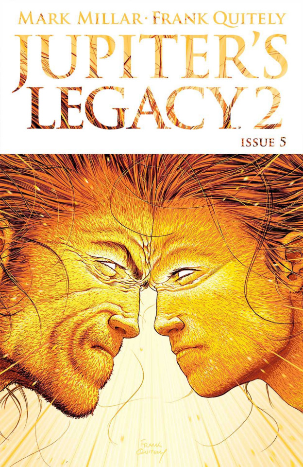 Jupiter's Legacy 2 #5 (Quitely Cover)