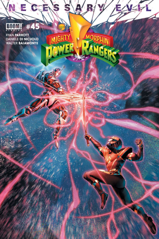 Mighty Morphin' Power Rangers #45 (Campbell Cover)