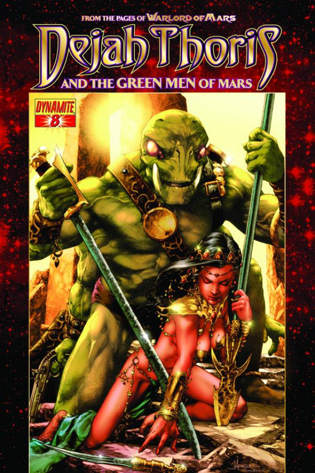 Dejah Thoris & The Green Men of Mars #8