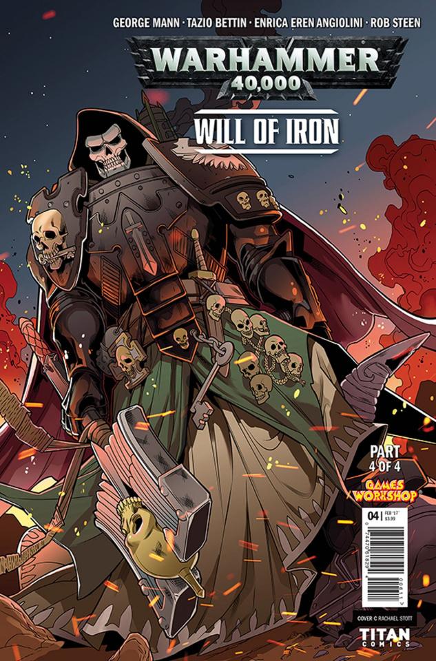 Warhammer 40,000: Will of Iron #4 (Stott Cover)