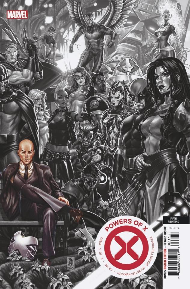 Powers of X #1 (Brooks 2nd Printing)