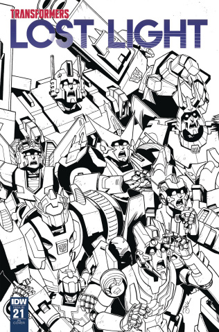 The Transformers: Lost Light #21 (10 Copy Lawrence Cover)