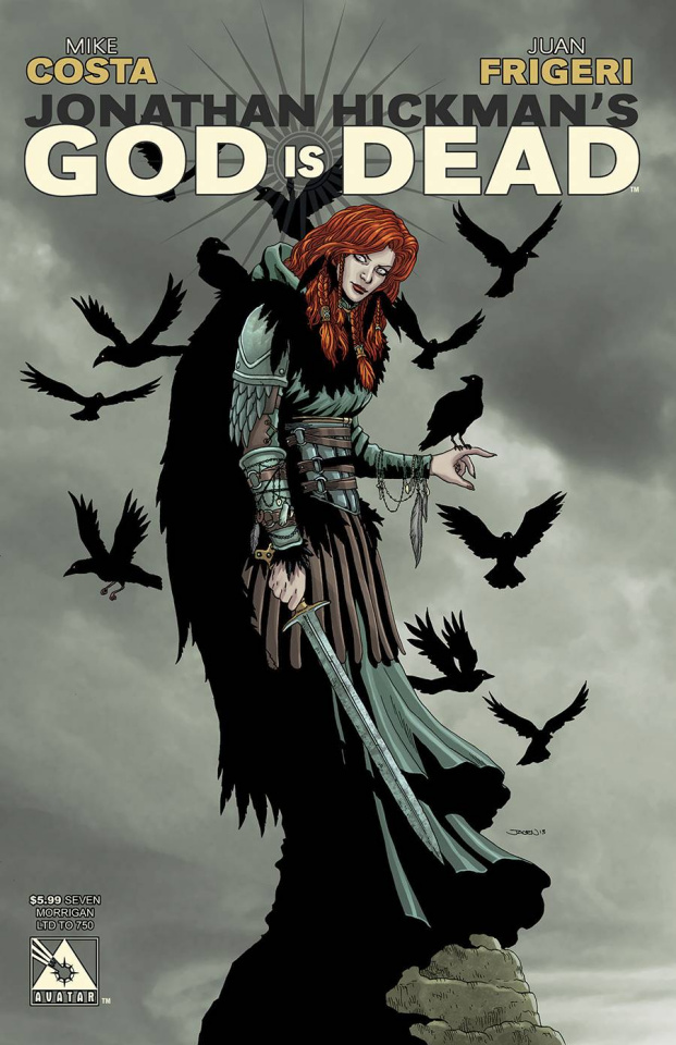 God Is Dead #7 (Morrigan Cover)