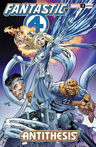 Fantastic Four: Antithesis #3 (Land Cover)