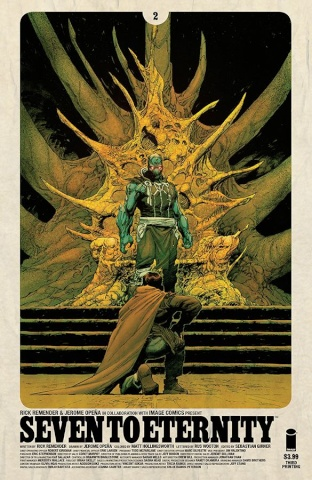 Seven to Eternity #2 (3rd Printing)