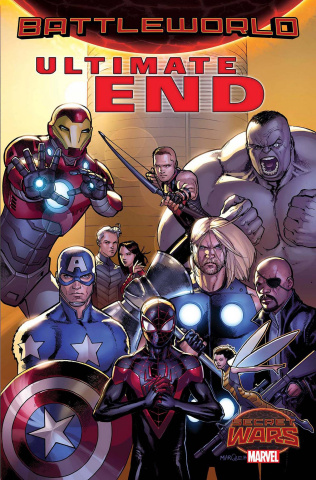 Ultimate End #1 (Marquez Cover)