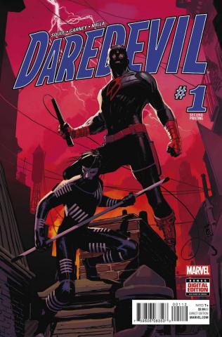 Daredevil #1 (Garney 2nd Printing)