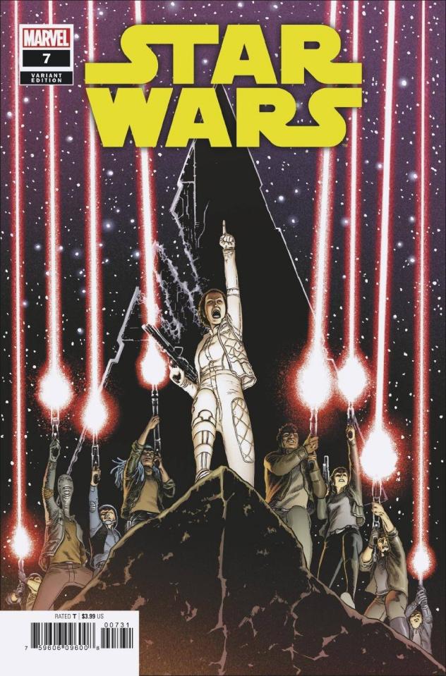 Star Wars #7 (Kuder Cover)