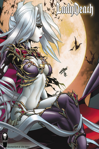 Lady Death: Scorched Earth #2 (10 Copy Paul Green Cover)