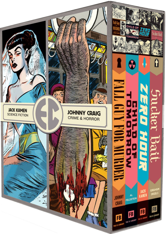 EC Comics: Four Vol. 2 (Slipcase)