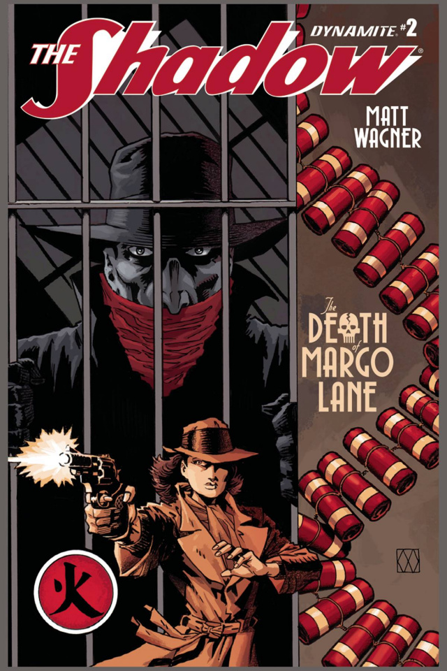 The Shadow: The Death of Margo Lane #2 (Wagner Cover)