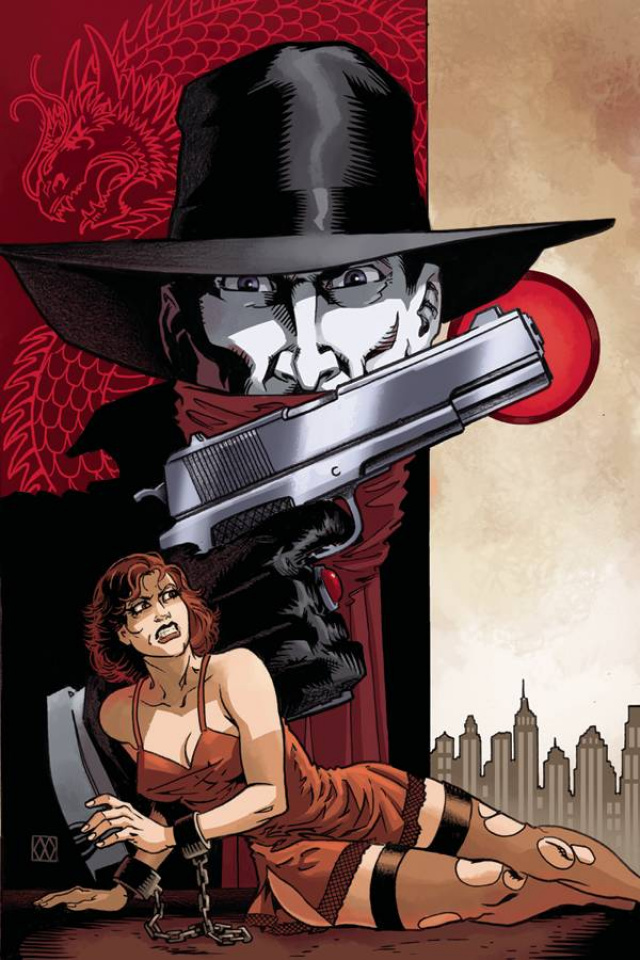 The Shadow: The Death of Margo Lane #1 (Rare Wagner Virgin Cover)