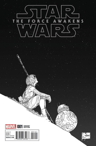 Star Wars: The Force Awakens #1 (Quesada Sketch Cover)