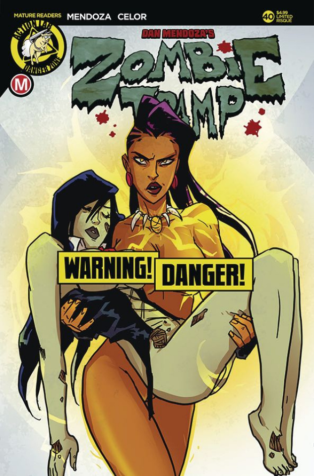 Zombie Tramp #40 (Risque Besties Cover)