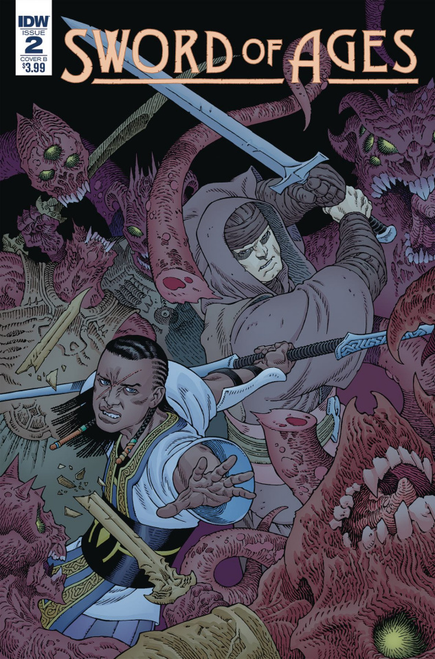 Sword of Ages #2 (Rodriguez Cover)