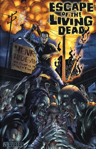 Escape of the Living Dead #4 (latinum Foil Cover)