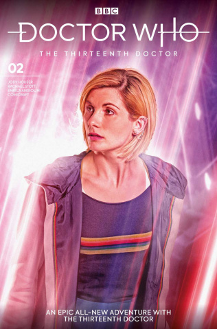Doctor Who: The Thirteenth Doctor #2 (Brooks Cover)