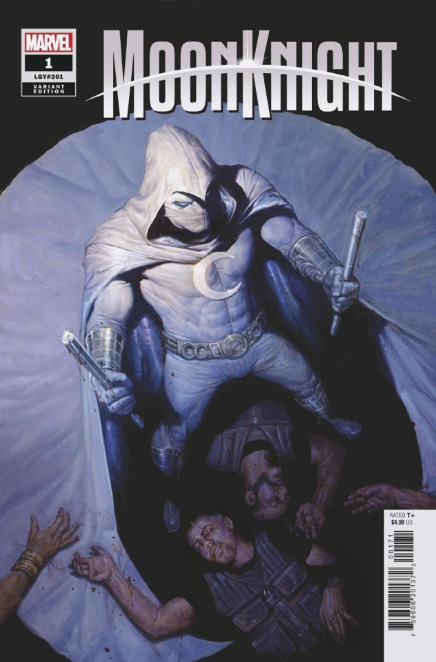 Moon Knight #1 (Gist Cover)