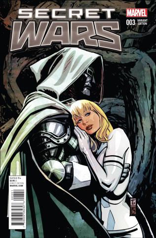 Secret Wars #3 (Coker Cover)