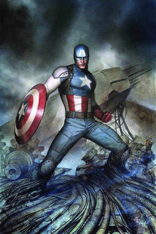 Captain America: The Living Legend #4