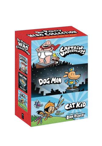 Dav Pilkey's Hero Collection 3-Book Boxed Set