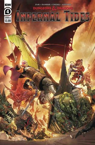 Dungeons & Dragons: Infernal Tides #4 (Dunbar Cover)