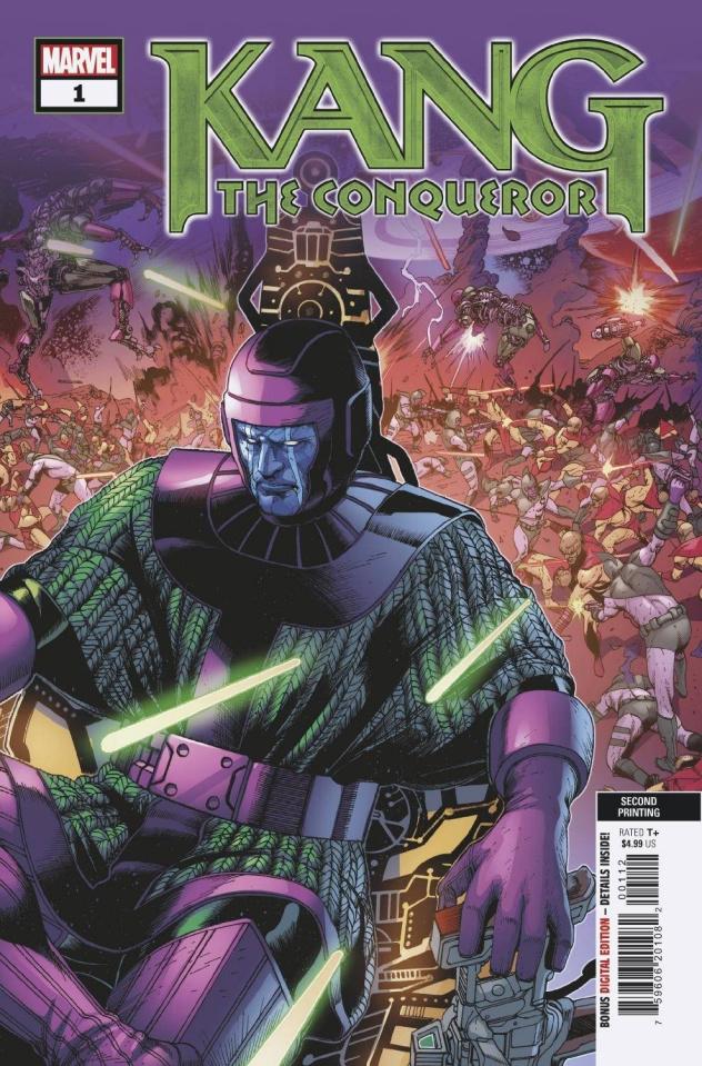 Kang the Conqueror #1 (2nd Printing)