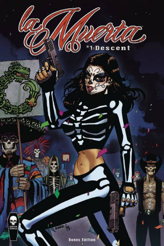 La Muerta: Descent #1 (Bones Cover)