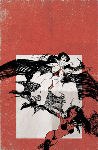 Vampirella vs. Purgatori #5 (30 Copy Broxton Virgin Cover)