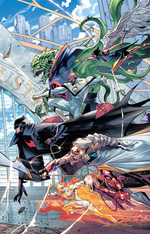 Justice League #20 (Right Variant Cover)