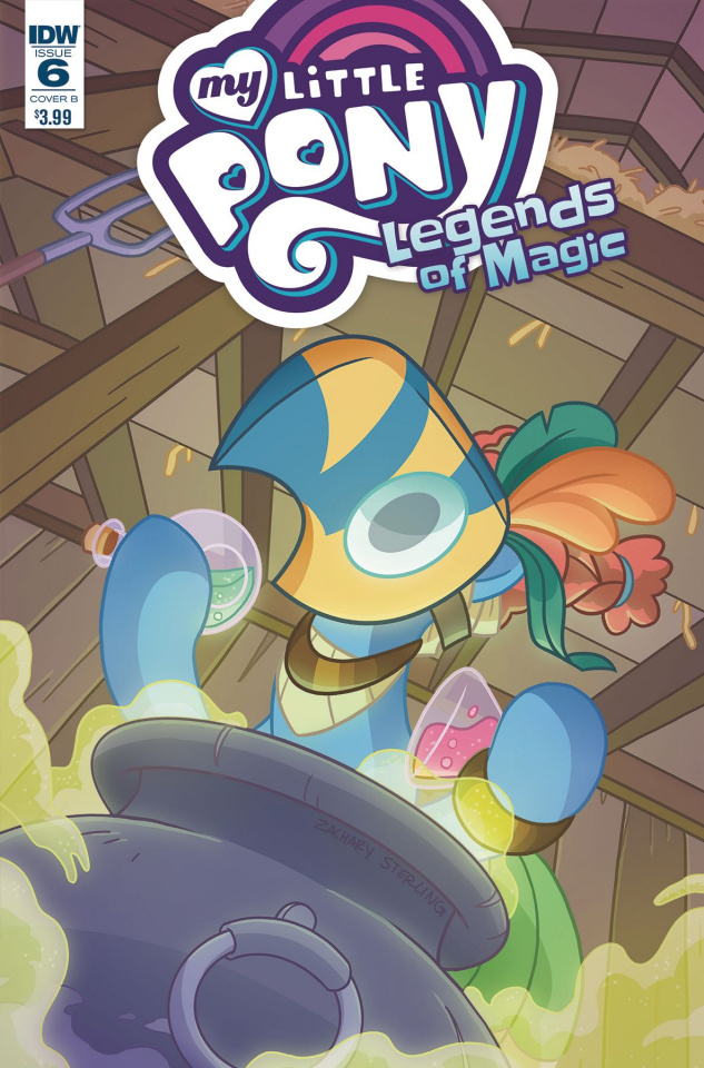 My Little Pony: Legends of Magic #6 (Sterling Cover)