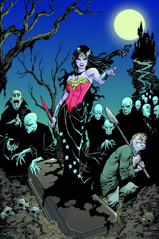 Wonder Woman #35 (Monsters Cover)