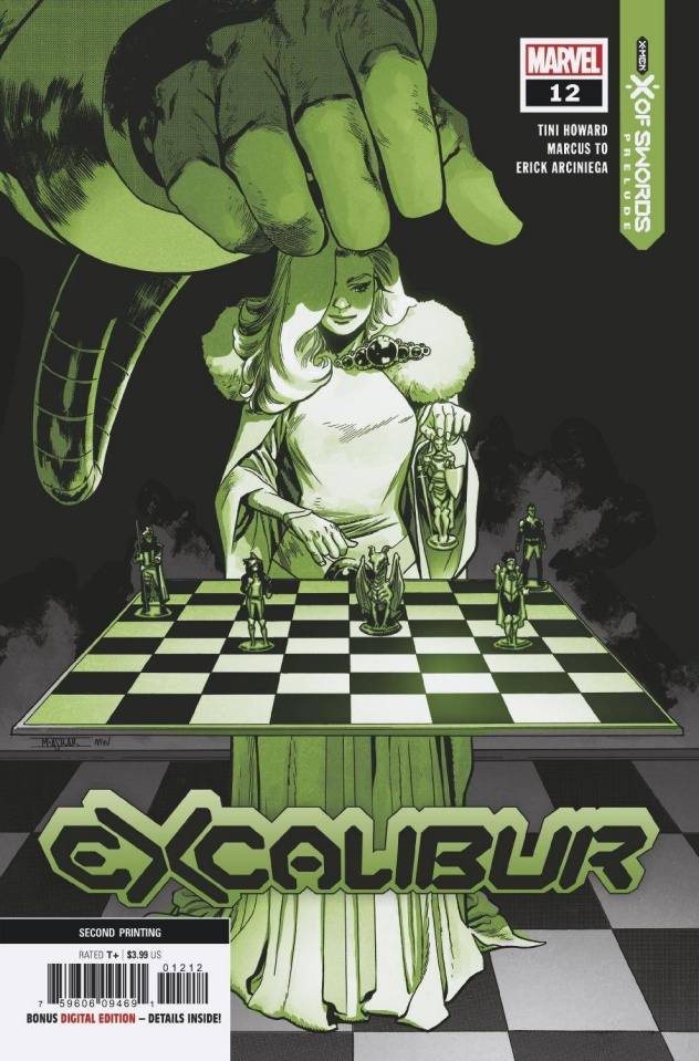 Excalibur #12 (Asrar 2nd Printing)