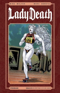 Lady Death #25 (Sexy Sport Track Cover)