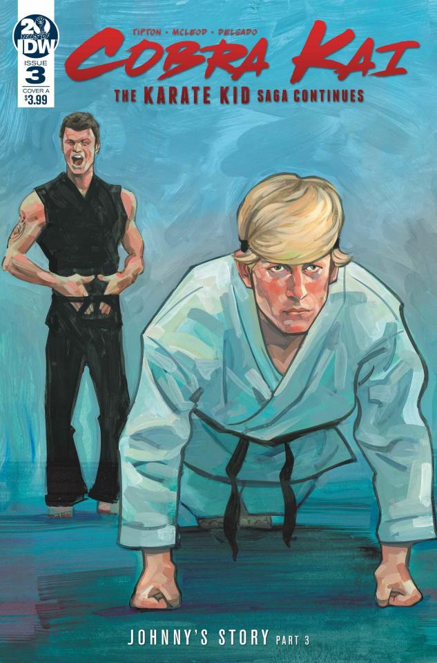 Cobra Kai: The Karate Kid Saga Continues #3 (McLeod Cover)