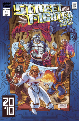 Street Fighter Unlimited #11 (10 Copy Homage Cover)