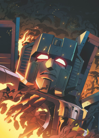 The Transformers #14 (Tramontano Cover)