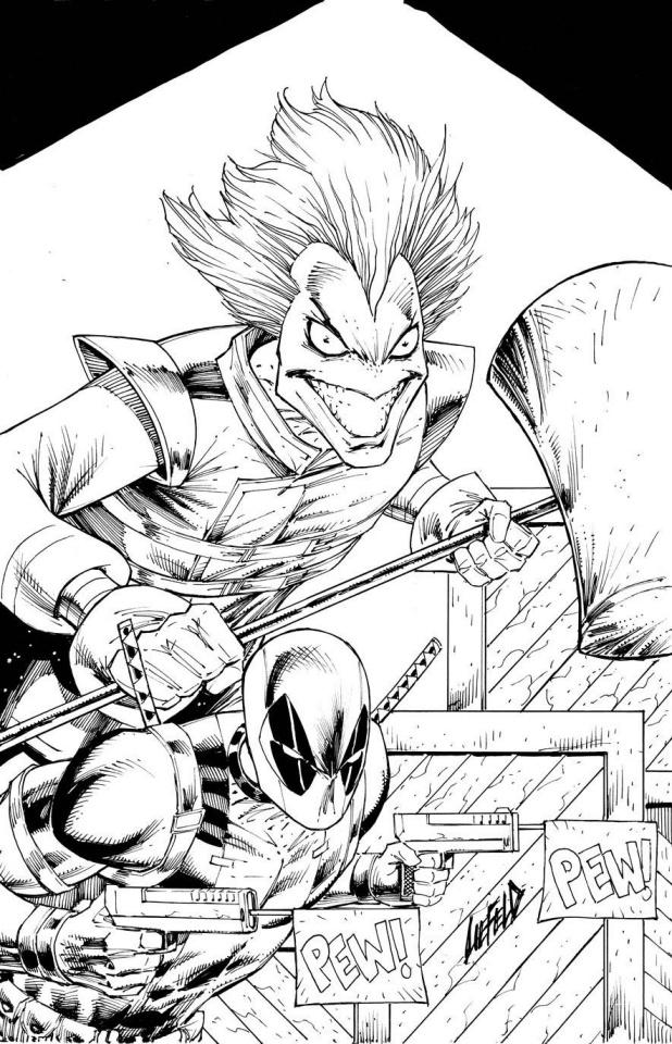 Slapstick! #1 (Liefeld Sketch Cover)