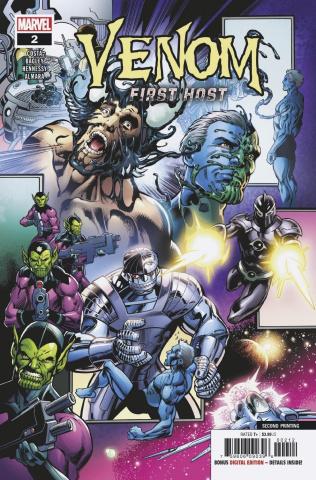 Venom: First Host #2 (Bagley 2nd Printing)