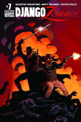 Django / Zorro #7 (Subscription Cover)