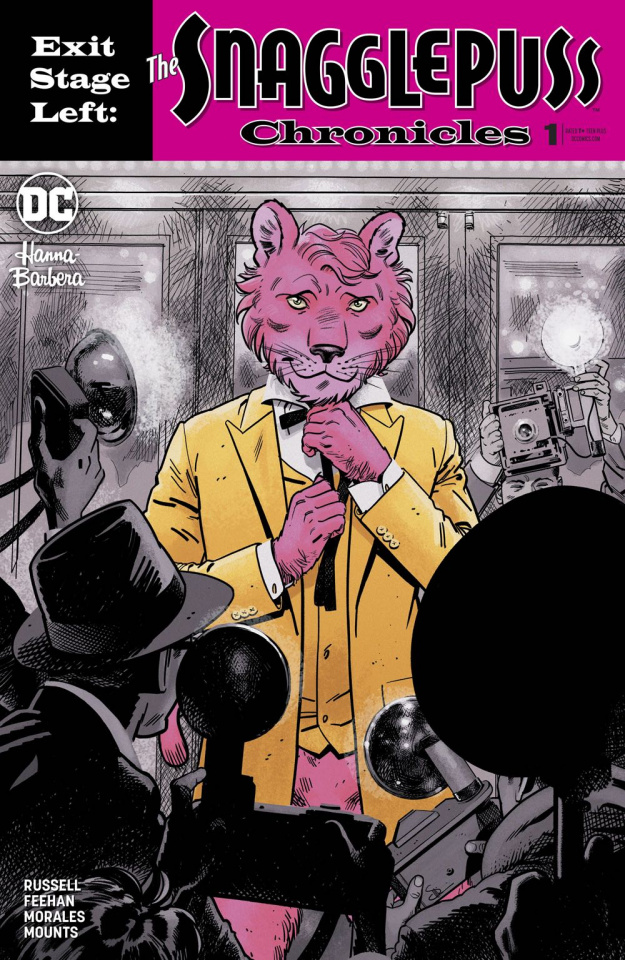 Exit Stage Left: The Snagglepuss Chronicles #1 (Variant Cover)