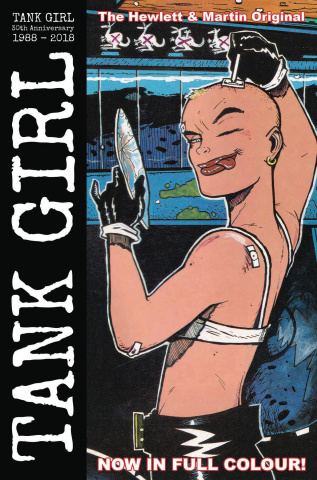 Tank Girl: Full Color Classics #1 (1988-1989 Hewlett Cover)