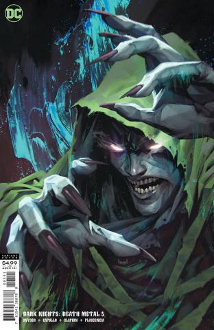 Dark Nights: Death Metal #5 (Kael Ngu Spectre Cover)
