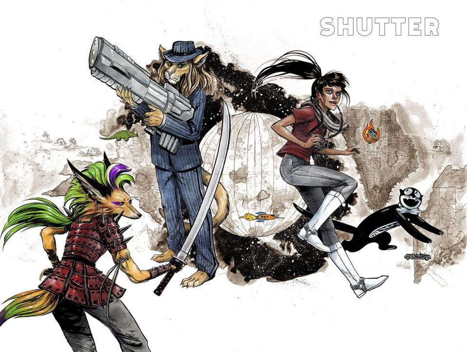 Shutter Vol. 1: Wanderlost