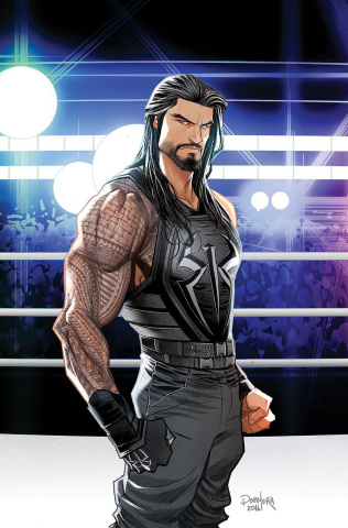 WWE: Then, Now, and Forever #1 (Variant Cover)