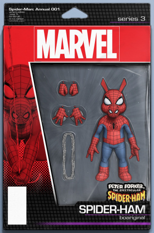 Spider-Man Annual #1 (Christopher Action Figure Cover)